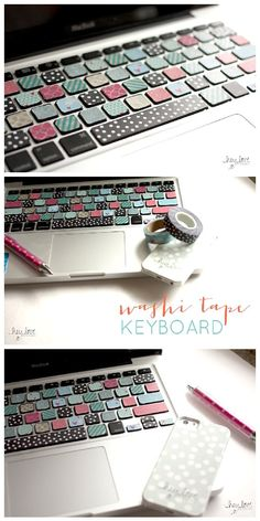DIY Back to School Projects for Teens and Tweens - Personalize your laptop or…