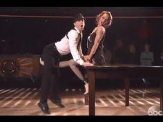 Semi Finals #DWTS Season 18 WEEK 9  : Amy Purdy & Derek - in a marvelous Jazz dance - Dancing With The Stars. Guest judge Kenny Ortega