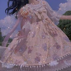 Angel Aesthetic, Blue Aesthetic, Aesthetic Clothes, Pretty Dresses, Beautiful Dresses, Great Gatsby Fashion, Fantasy Gowns, Aesthetic Photography Nature, Fairytale Dress