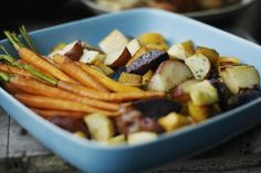 Crockpot Roasted Vegetables is an easy recipe that makes a delicious, tender and sweet side dish.
