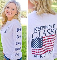 Jadelynn Brooke Long Sleeve Keeping It CLASSY Tee