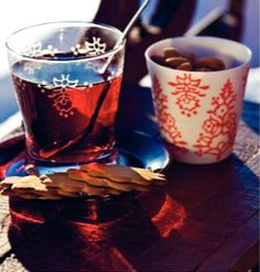 Glögi and gingerbread cookies - this is a Scandinavian  tradition I can't live without.