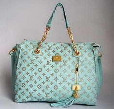 tirquoize louis vuitton handbag