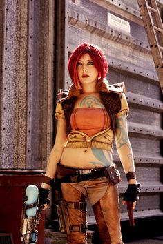 Borderlands Lilith Cosplay Costume 8