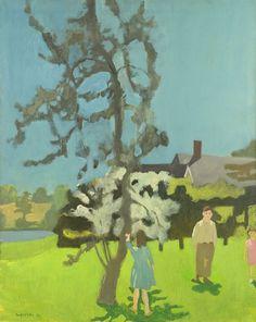 Fairfield Porter, The Pear Tree, 1962