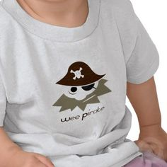 Wee Pirate for KIDS Tee Shirt