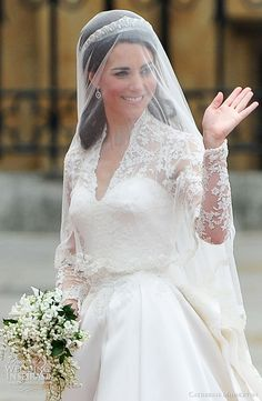 "Royal Wedding of Catherine, HRH Duchess of Cambridge, and Prince William. ""True Beauty is neither in an attractive face nor in the glamorous body. It's the shining divine light in your heart that illuminates our world."" - Deodatta V. Shenai-Khatkhate"
