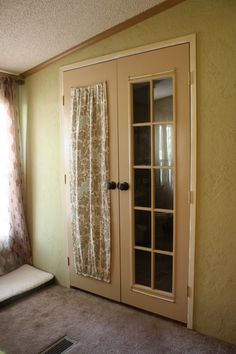 French Doors With Curtains diy french door curtains | fun and easy diy projects | pinterest