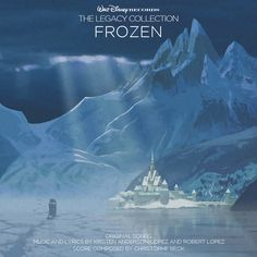 Custom artwork for 'Frozen' in the style of Disney's The Legacy Collection. I used concept art from the film for this one.
