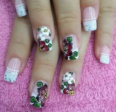 Pastel Nails, Acrylic Nails, Nails & Co, French Manicure Nails, Magic Nails, Hot Nails, Fancy Nails, Flower Nails, Creative Nails