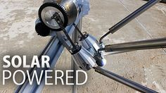 Solar Powered Stirling Engine | A fun camping energy source/experiment