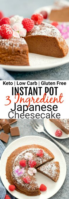 This cheesecake is flourless gluten free low carb and keto friendly. Low Carb Chicken Recipes, Healthy Low Carb Recipes, Low Carb Dinner Recipes, Low Carb Desserts, Keto Smoothie Recipes, Cheesecake Recipes, Dessert Recipes, Soup Recipes, Diet Recipes