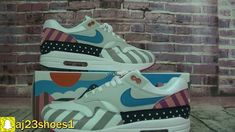 Authentic Nike Air Max 1 Parra Frist Review From aj23shoes net 692303c15
