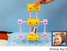 Goldie Blox--construction toys for girls to encourage more girls to get into engineering--great idea!