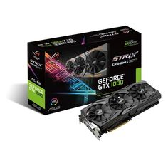 ASUS anuncia nova placa de vídeo RoG Strix GeForce GTX 1080