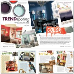 LAYOUT DESIGN OREGON HOME MAGAZINE FEB MAR 2012 Jon Taylor Carter