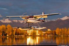 Anchorage-Lake Hood Strip/Seaplane  Cessna 182A.  Photographer Mark T. Smith