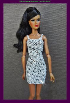 Clothes for Fashion Royalty / FR2 / Barbie /  Poppy Parker /  Tonner tiny Kitty