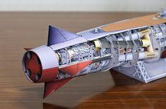 B9_2 Model Ships, Paper Models, Plastic Models, Scale Models, Paper Crafts, Godzilla, Nifty, Monsters, Sailing