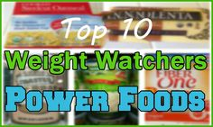 Weight Watchers Power Foods are good for you, keep you feeling satisfied, and they're delicious! Weight Watchers is encouraging members to eat more Power Foods with their Simple Start Program.    WW Fact: Power Foods are selected not