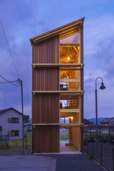 Gallery of 22 Skinny Houses With a Narrow Footprint and a Broad Impact - 22