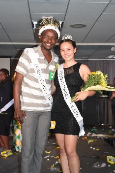 Congratulations to the 2017 NMU Homecoming King and Queen - Kelvin Orina Getuno, All Nations Club, and Autumn Beeman, Magers Hall. Welcome Students, Homecoming Week, Congratulations, King, Autumn, Queen, Club, Unique, Fashion