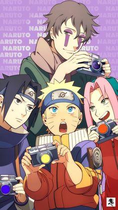 Team Naruto, Sasuke, Sakura and Kakashi Kakashi Hatake, Anime Naruto, Naruto Shippuden, Hinata, Naruto Gaiden, Shikamaru, Itachi, Boruto, Sasuke Sakura