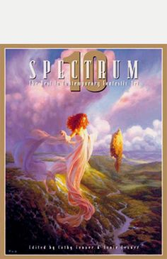 Original artwork featured in the Spectrum's tenth showcase for the best fantasy, science fiction, horror, and otherwise uncategorizable artwork created each year.