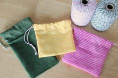 We are getting better at sewing and it's time for a little more difficult project, although it is still easy enough for a beginner. We've sewn a fabric bookmark, a t-shirt bag, and now we're sewing up a cute little drawstring bag. It's perfect for all your little charms or marbles to fit inside. My …
