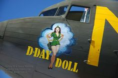Image detail for -NOSE ART DISPLAY -