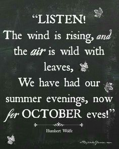 quotes halloween wind leaves air october october is coming october quotes october month october eve humbert wolfe