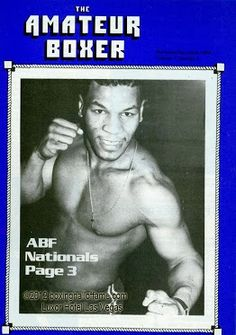 """Every great boxing champion began as an amateur. Even """"Iron Mike"""" Tyson  boxinghalloffame.com Luxor Hotel Las Vegas, Boxing Posters, Boxing History, Boxing Champions, Mike Tyson, Entertaining, Baseball Cards, Sports, Pose"""