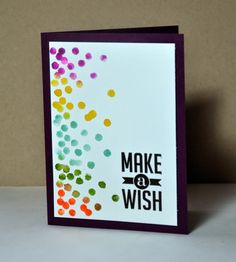 Tidbits: Pinkies bloghop - what a clever way to use the Dotty Angles stamp set!