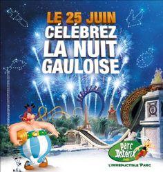 Parc Astérix 25 juin NUIT GAULOISE - Concours