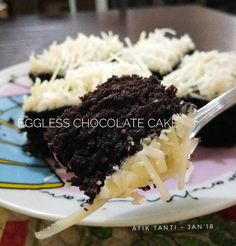 Eggless Chocolate Cake ala Farah Quinn