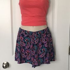 Soft Shorts SMALL-Flirty Soft Shorts, Stretchy Back......Cute for the summer! This listing is only for the shorts. PRICE IS FIRM... 〰Price is Final on items $15 or less unless Bundled〰 Thank you  Charlotte Russe Shorts