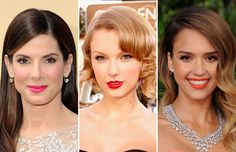 Best make-up and hairstyles at award shows
