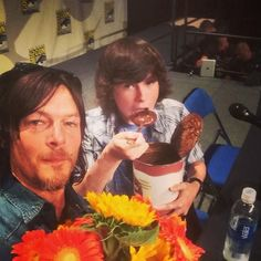 Hall h!!! Comicon Chandler Riggs