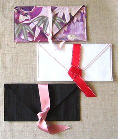 DIY Felt Fabric Valentine : DIY fabric envelope for valentines day