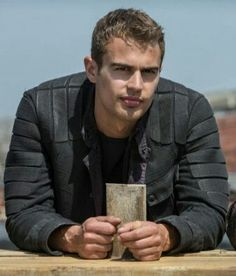 Can you just stop and imagine that Four is looking at you with this endearing look in his eyes Ok.have a Happy Four Friday TheDivergentSeries Divergent Insurgent Allegiant Four TobiasEaton TheoJames FourFriday Divergent Theo James, Divergent Four, Tris And Four, Divergent Trilogy, Divergent Insurgent Allegiant, Tobias, Film Trilogies, Michelle Rodriguez, Hot Actors