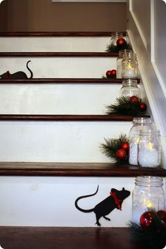 Not a creature was stirring. I think I may need to see if there are any of the MS mice left from Halloween.