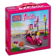 Mega Bloks Barbie Build N Play Scooter  #MegaBloks
