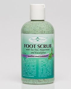 Foot Scrub with Tea Trea and Eucaliptus >>> Be sure to check out this awesome product.