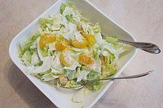 Eisbergsalat mit Mandarinen, ein beliebtes Rezept aus der Kategorie Früchte. Bewertungen: 14. Durchschnitt: Ø 4,2.
