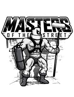 Masters of the Street by Gabo Romero, via Behance