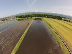 北陸自動車道立山IC(富山県立山町) 付近より立山連峰を望む@Phantom