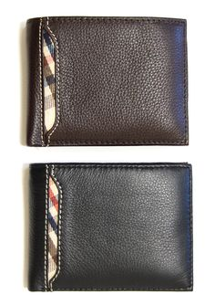 For Zach: Baxter's Leather Wallet - $24.99