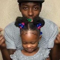 Black Baby Girl Hairstyles, Toddler Braided Hairstyles, Kids Curly Hairstyles, Natural Hairstyles For Kids, Natural Hair Babies, Crochets Braids, Hair Up Styles, Braids With Curls, Pelo Natural