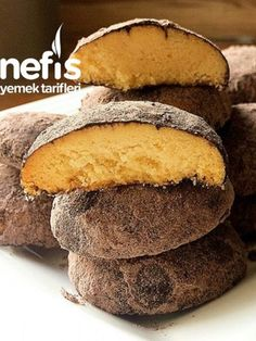 Delicious Cookie Recipes, Yummy Cookies, Yummy Food, Food Articles, Turkish Recipes, Cookbook Recipes, Food Design, Bon Appetit, Coco