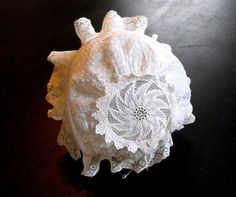 Antique Handmade Baby Bonnet Exquisite by Vintagefrenchlinens. Available in our shop on Etsy. We invite you to visit us..